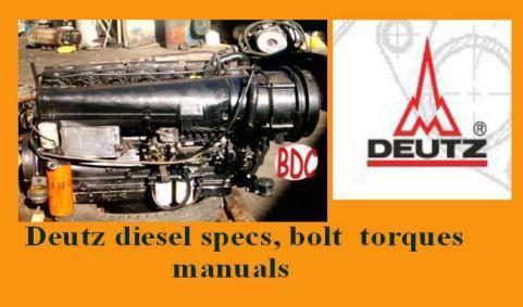 deutz diesel engine specs
