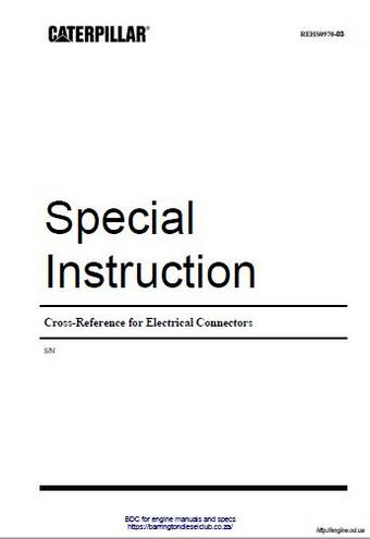 cross reference for electrical connectors