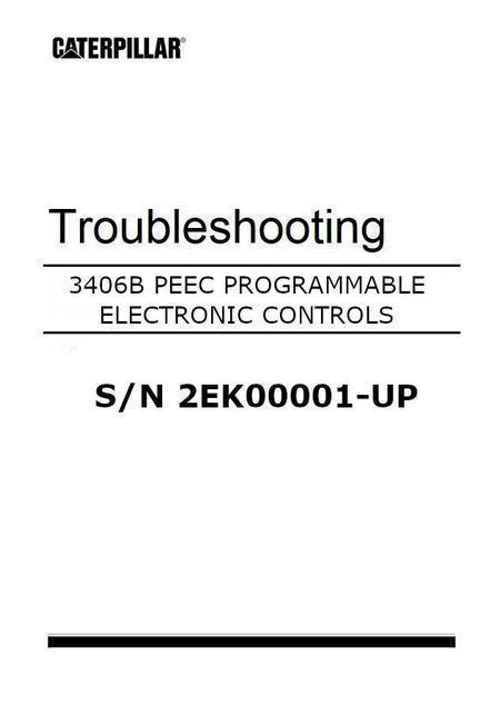 cat 3406 peec systems troubleshooting controls manual image