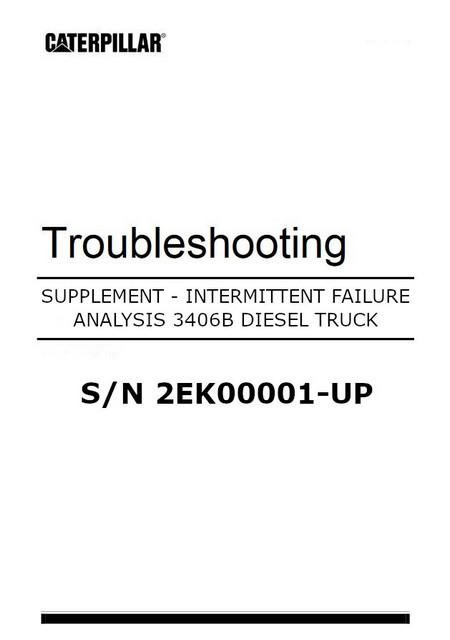 cat 3406 peec systems troubleshooting supplement manual image