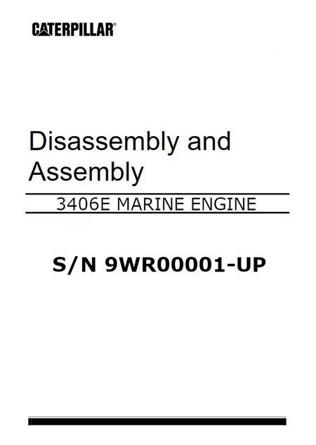 cat 3406 disassembly and assembly manual image