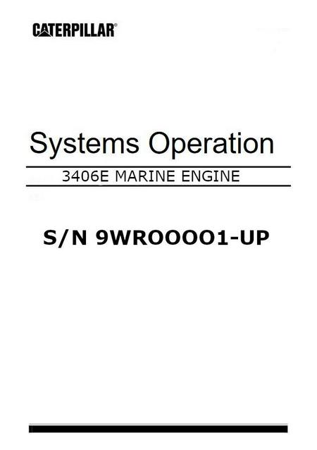 cat 3406E systems operation and testing manual image