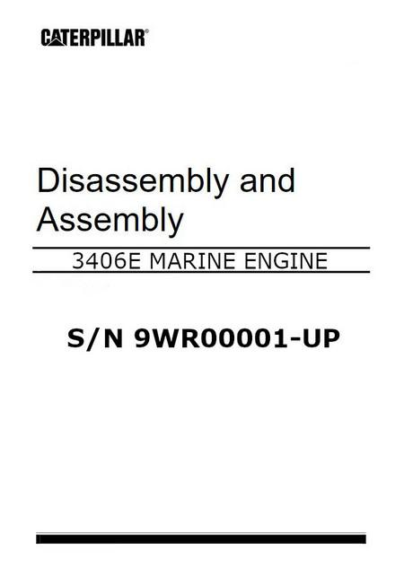 cat 3406E disassembly and assembly manual