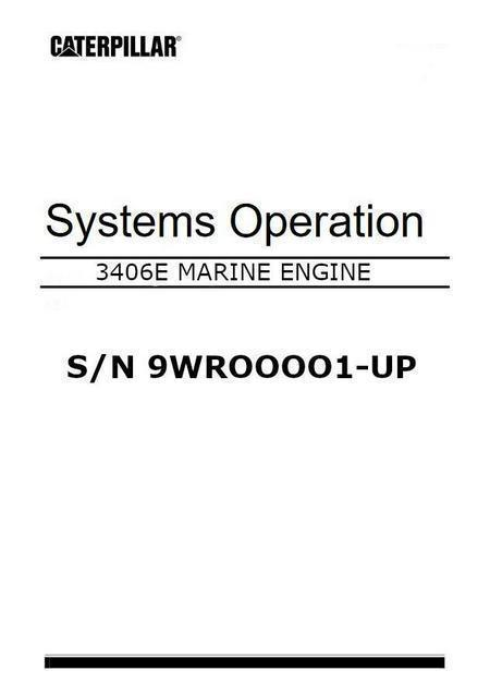 cat 3406E systems operation and testing manual