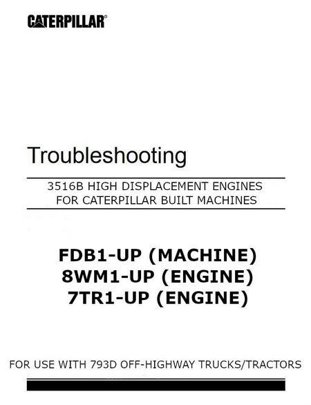cat 3516B troubleshooting manual image p1