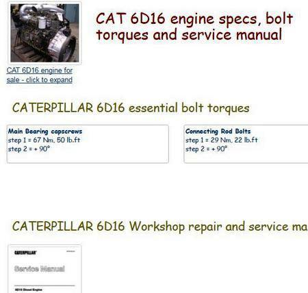 cat 3500 essential specs snip