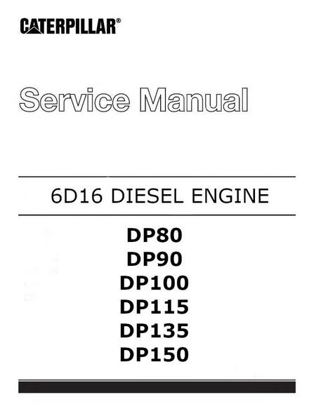 6D16 engine service manual p1