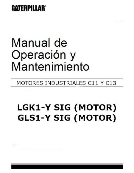 CatC11 and C13, Spanish, Operation and Maintenance p1