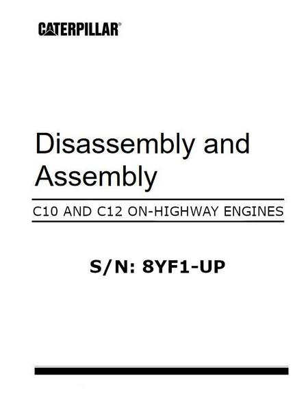 cat c10 and c12 engine specs manuals and bolt torques rh barringtondieselclub co za caterpillar c12 parts manual pdf caterpillar c15 manual