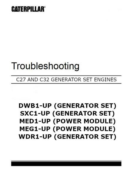c27 and c32 troubleshooting manual cover