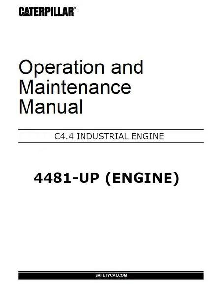 Caterpillar C4 4 C6 6 specs, bolt torques and manuals