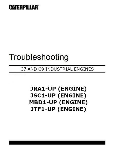 Cat C7 troubleshooting manual, p1