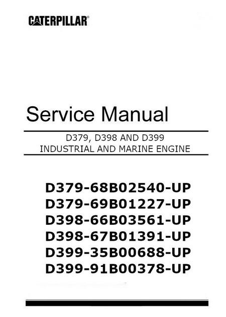 cat d379 d398 and d399 manuals spec sheets bolt torques rh barringtondieselclub co za Caterpillar D379 Air Filter caterpillar d379 manual