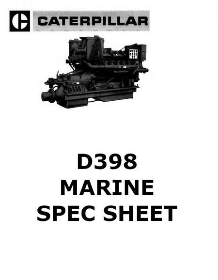 cat d379 d398 and d399 manuals spec sheets bolt torques rh barringtondieselclub co za caterpillar d379 manual Caterpillar D399 Specifications