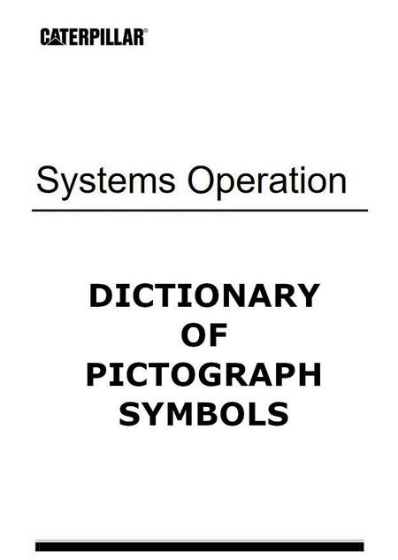 Caterpillar - Dictionary of Pictograph Symbols p1