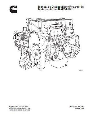 image Cummins ISM Operation and Maintenance manual, p1 of 804