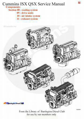 image components sections 8-11 manual