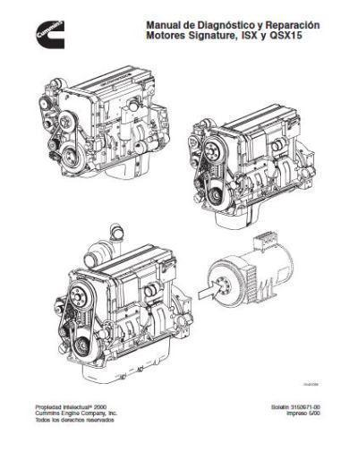 Cummins ISX15 and QSX15 specs, bolt torques, manuals