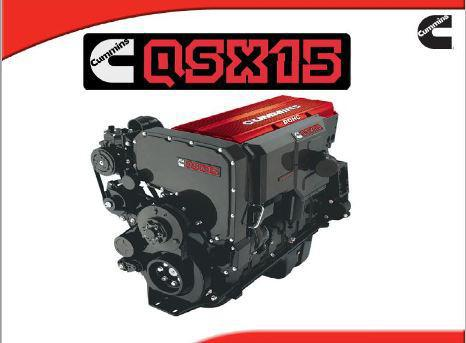 Cummins QSX15 spec sheet