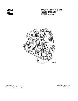 KT1150 troubleshooting and repair manual p1