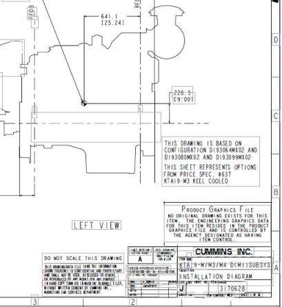 Cummins KTA19 PDF marine installation drawings p1