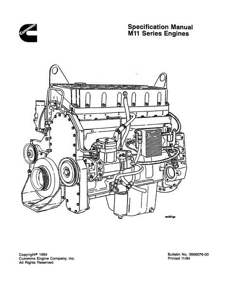 M11 Engine Diagram - All Wiring Diagram on