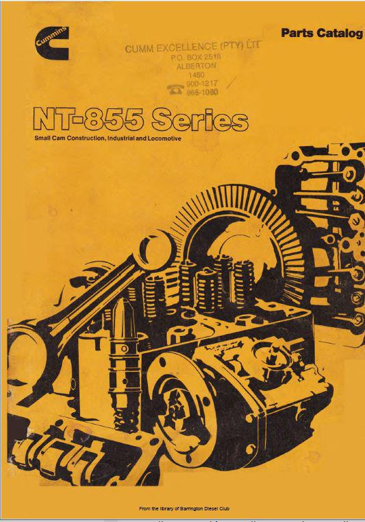 N855 Small Cam parts catalog
