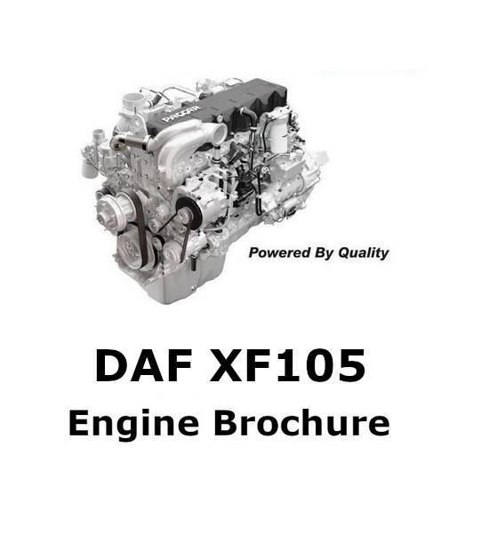 image Daf XF105 brochure p1
