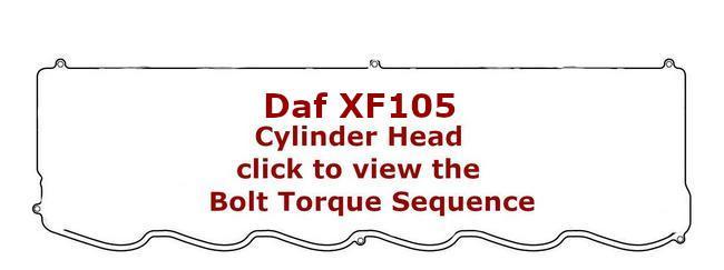 daf xf105 cylinder head