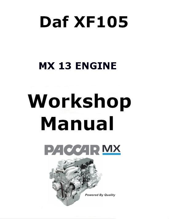 image Daf XF105 Workshop Manual p1