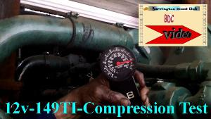 Detroit Diesel 12v149TI compression test