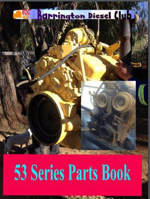 Detroit Sel 4 53 Series Parts Manual P1