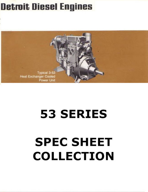 Detroit Diesel 53 series spec sheet collection p1