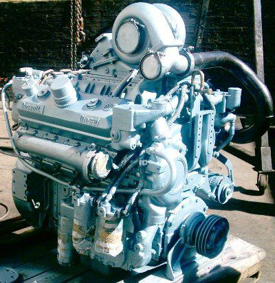 Detroit Diesel 8v-71 turbo engine