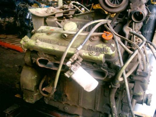 Detroit Diesel 8v-71 turbo engine for Terex Dozer