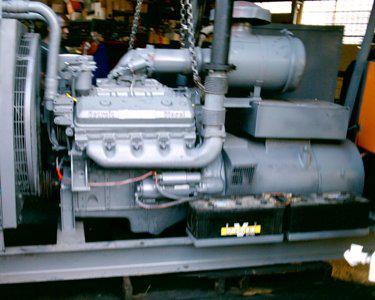 Detroit Diesel 8v-71 genset