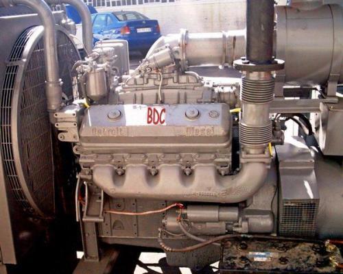 Detroit Diesel 8v-71 engine  #1