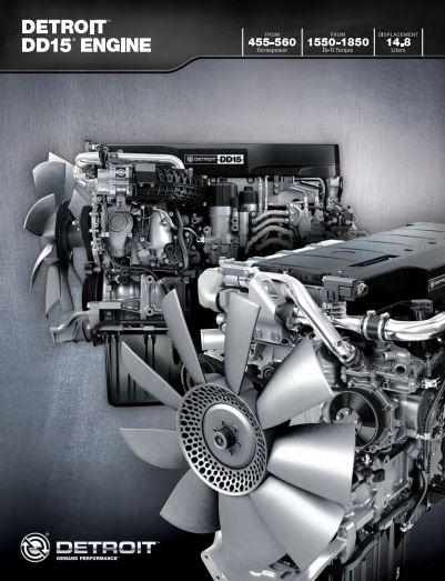 Detroit Diesel DD15 engine brochure p1