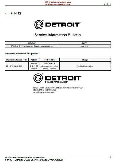 Detroit diesel dd service bulletin 2012 p1