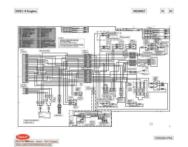 Ddec Ii Wiring Diagram - Wiring Diagrams Register Ddec Ecm Wiring Diagram on