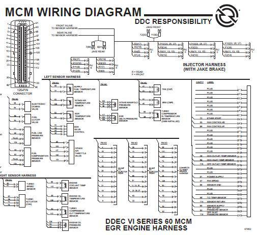 ddec ii wiring diagram detroit diesel electronic items and manuals  detroit diesel electronic items and manuals