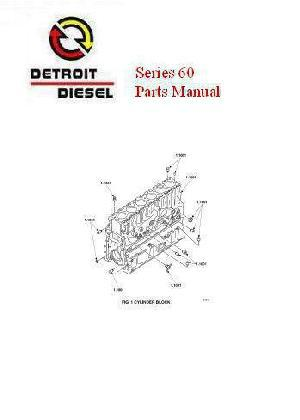 Detroit Diesel series 60 parts manual