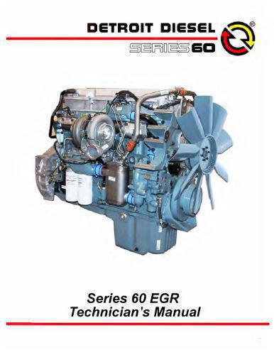 Detroit Diesel Series 60 >> Detroit Diesel Series 60 Repair Manuals And Spec Sheets