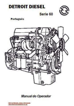 Detroit Diesel s60 manual do operado - Portugues