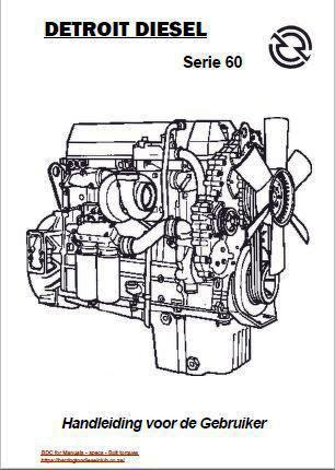 Detroit Diesel s60 Nederlandse handleiding