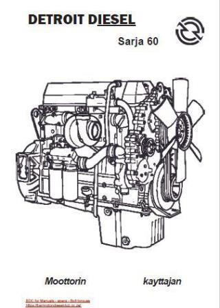 Series 60 Detroit Engine Diagram - Wiring Diagram Page