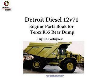 Detroit Diesel terex r35 12v71 engines manual