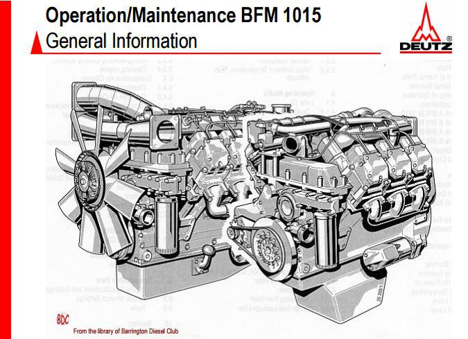 image Deutz 1015 operation and maintenance manual p1 of 62