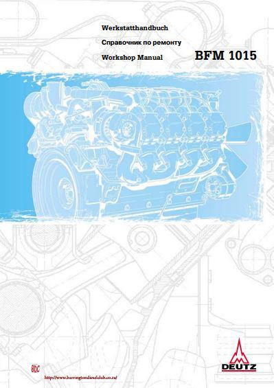 Deutz 1015 workshop manual p1