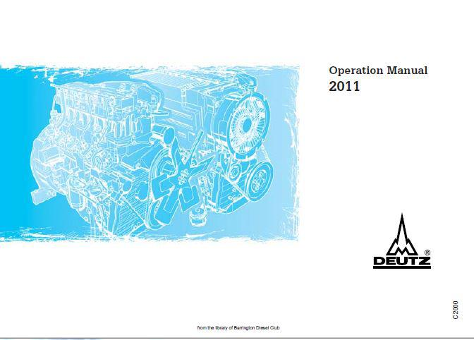 image Deutz 2011 operation manual p1
